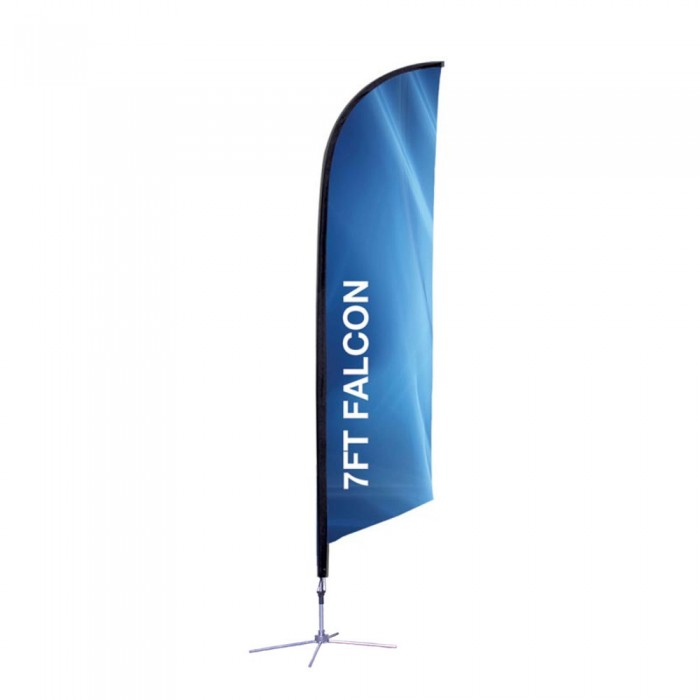 7Ft. Feather Flag – Graphic Package
