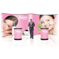 20 ft. Pop Up Trade Show Display