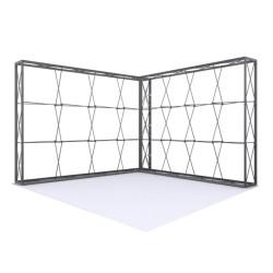 V Shape Lumière Light Wall® Configuration I - BACKLIT (Graphic Package)