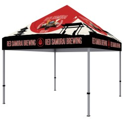 10 ft. Canopy Steel Tent Dye-Sub Full Color
