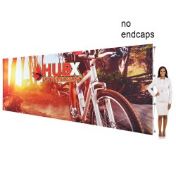 """20 ft. RPL Fabric Pop Up Display - 89""""h Straight Graphic Package"""